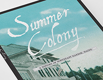 Summer Colony - DVD Design