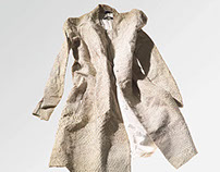 Helmut Lang's Burnt Archive by Elfie Semotan