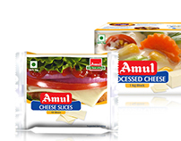 Packaging: Amul Processed Cheese