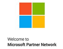 Microsoft Partner Network mobile app UX