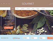 GOURMET THEME FOR RESTAURANTS & BARS