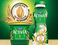 ACTIVIA - WHOLE GRAIN - NEW PACKAGING