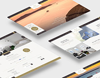 Santorini Secret - Logo & Website