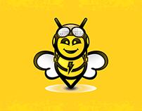 Lighting Digital Search | Bee Logo