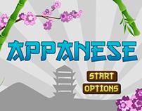 Appanese (iPhone App Mock-Up)