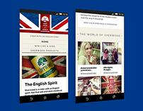Sherwood Cider responsive website