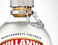 Logo, Branding, Label - Villányi Pálinka