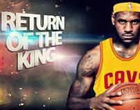 Return of the King: LeBron James