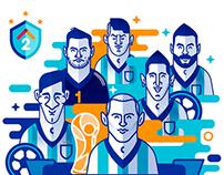 La Selección Argentina 2014
