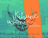 Kitsune Udon (free OpenType font!)
