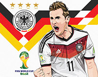 "Miroslav Klose ""Germany 2014"""