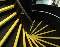 D&D Leeds Helical Staircase