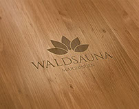 Waldsauna Maichingen Corporate Design