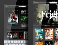 Fright Club  iPad UI
