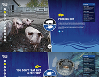 Long John Silver's Promo Website Concept