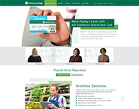 Commerce Bank DirectCheck Website