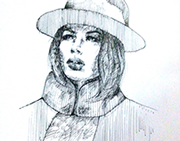 Doutzen Kroes (sketch#6)