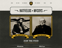 Hatfields & McCoys: White Lightning Website