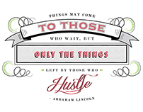 Hustle | Typography