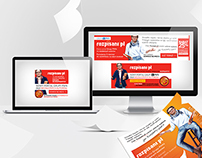Rozpisani.pl - web baners and press advertising