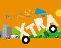 Campaign visuals - STL (Société de transport de Laval)