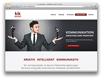 kik-Akademie Website Redesign