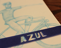 Azul (desplegable)
