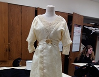 1910's Evening Dress Recreation (Half Scale)