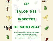 Salon des Insectes MTL 2014 Posters