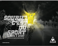 poster realizzati in occasione del Tour De France