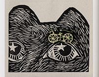 Grabo bicicletas / Etching Bikes