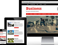 Bizznezz Wordpress Theme