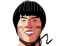 the hero CHA BOOM : cha beom guen