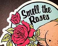 Smell the Roses - Decal