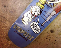 Surprise Skateboards-Ladies First