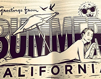 Center Fold- BUMMER CALIFORNIA Zine