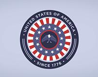 American Milestones: July 4th Animation