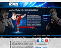 Mixed Martial Arts Concept