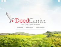 Deed Carrier branding, web design and development