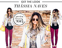 Post Blog OQVestir - Get the look Thássia Naves