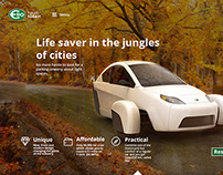Elio Motors (website concept)