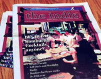 The Indie - newspaper cover design & layout