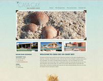Casa Cay on Casey Key Website Design and Development