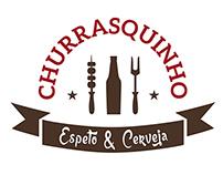 Modelos de logos - Churrasquinho