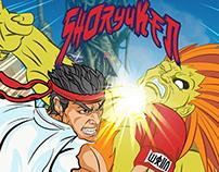Street Fighter (Sprayground Backpack)