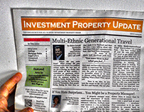 Tabloid-sized Newspaper FULL Template
