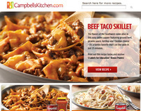 Food Lion - Campbell's Kitchen Website
