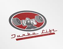 Turbo Lift Weightlifting Fitness Program Logo