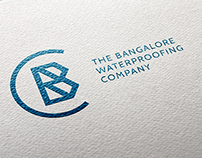 The Bangalore Waterproofing Company - Logo & Brochure
