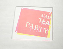 """A Mad Tea Party"" Specimen Book"